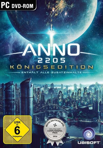 Anno 2205 Königsedition PC, Software Pyramide