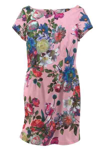 GMK Curvy Collection Sommerkleid mit floralem Druck