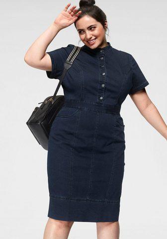 GMK CURVY COLLECTION Платье джинсовое