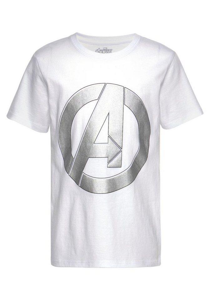the avengers t shirt mit gro em druck vorn kaufen otto. Black Bedroom Furniture Sets. Home Design Ideas
