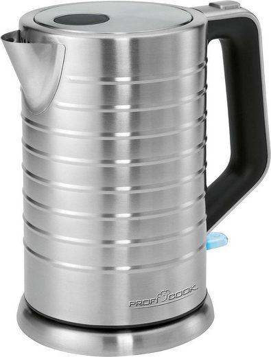 ProfiCook Wasserkocher PC-WKS 1119, 1,7 l, 2200 W