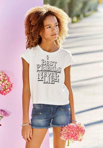 BUFFALO Marškinėliai »best friends never lie«