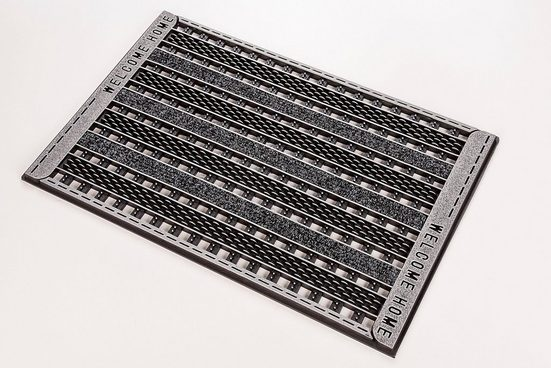 Fußmatte »GC Clean Griddie«, CarFashion, rechteckig, Höhe 8 mm, In- und Outdoor geeignet
