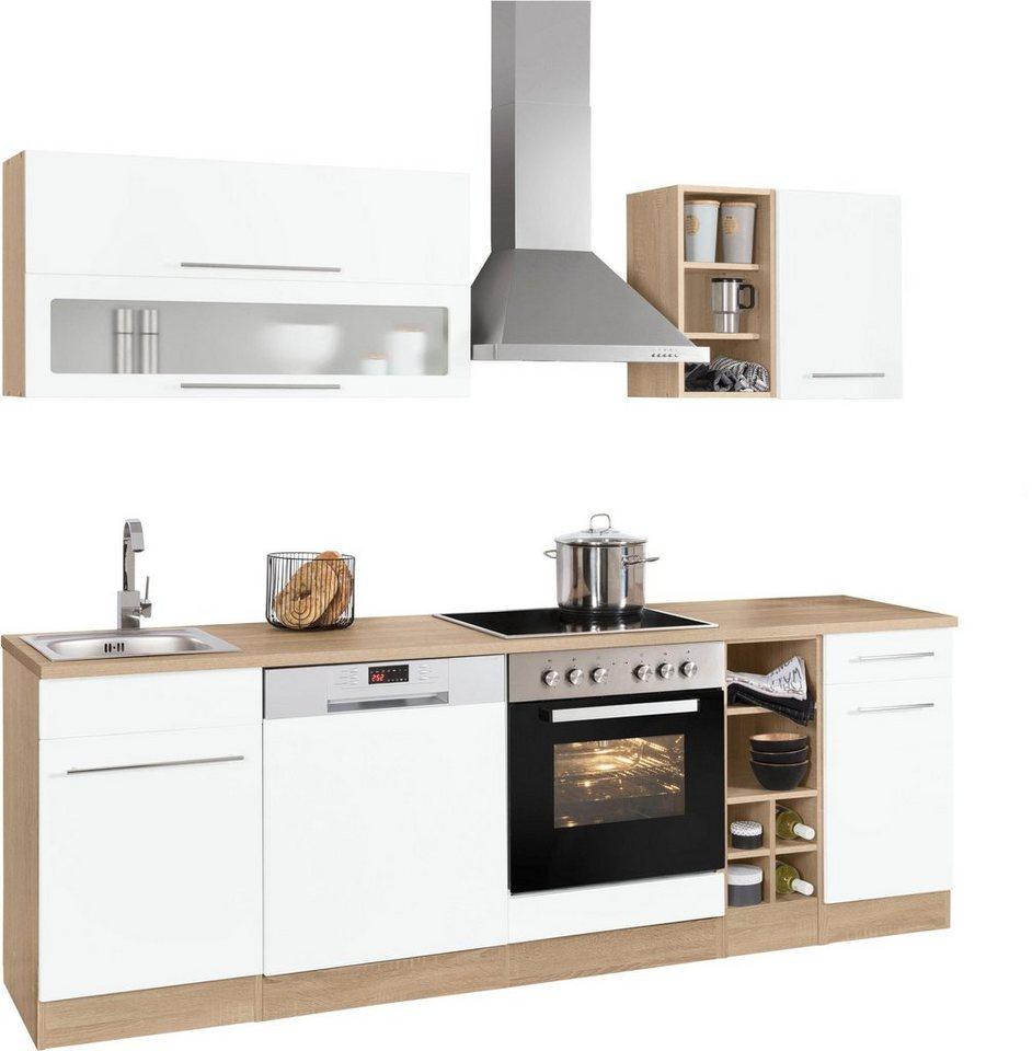 HELD MÖBEL Küchenzeile »Eton«, mit E-Geräten, Breite 16 cm online kaufen   OTTO