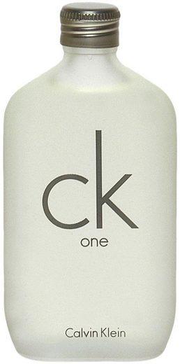 Calvin Klein Eau de Toilette »cK one«