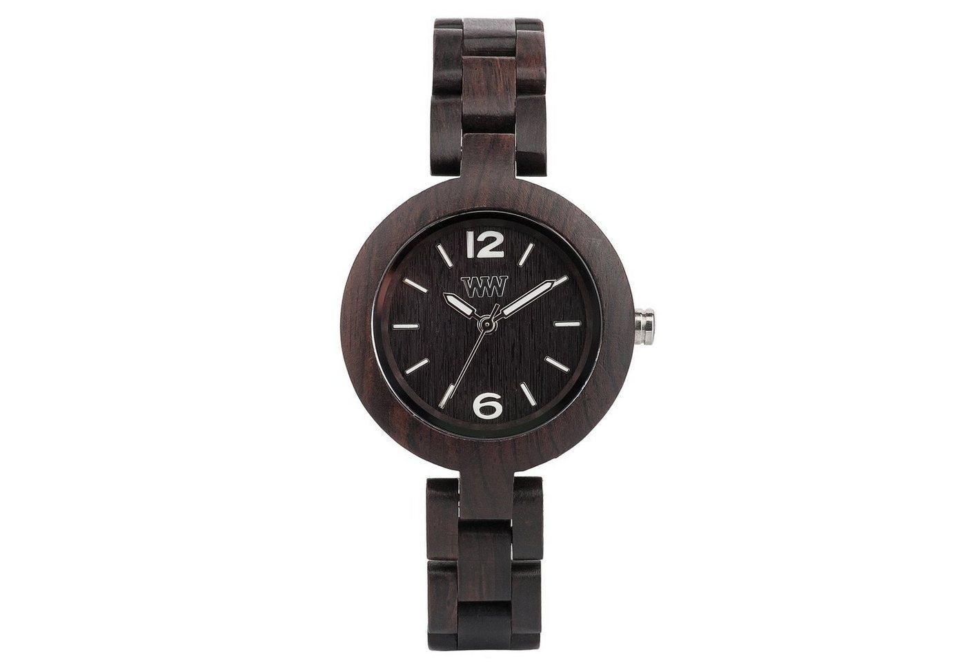 WeWOOD Armbanduhr Mimosa Black   Uhren > Sonstige Armbanduhren   WeWOOD