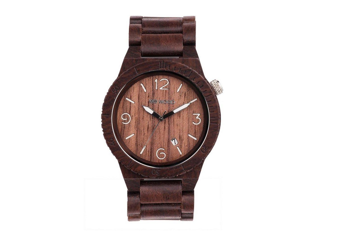WeWOOD Armbanduhr Alpha Chocolate   Uhren > Sonstige Armbanduhren   WeWOOD