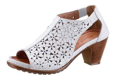9e082c91eb1d6a Gemini Sandalette mit modischer Blütenperforierung