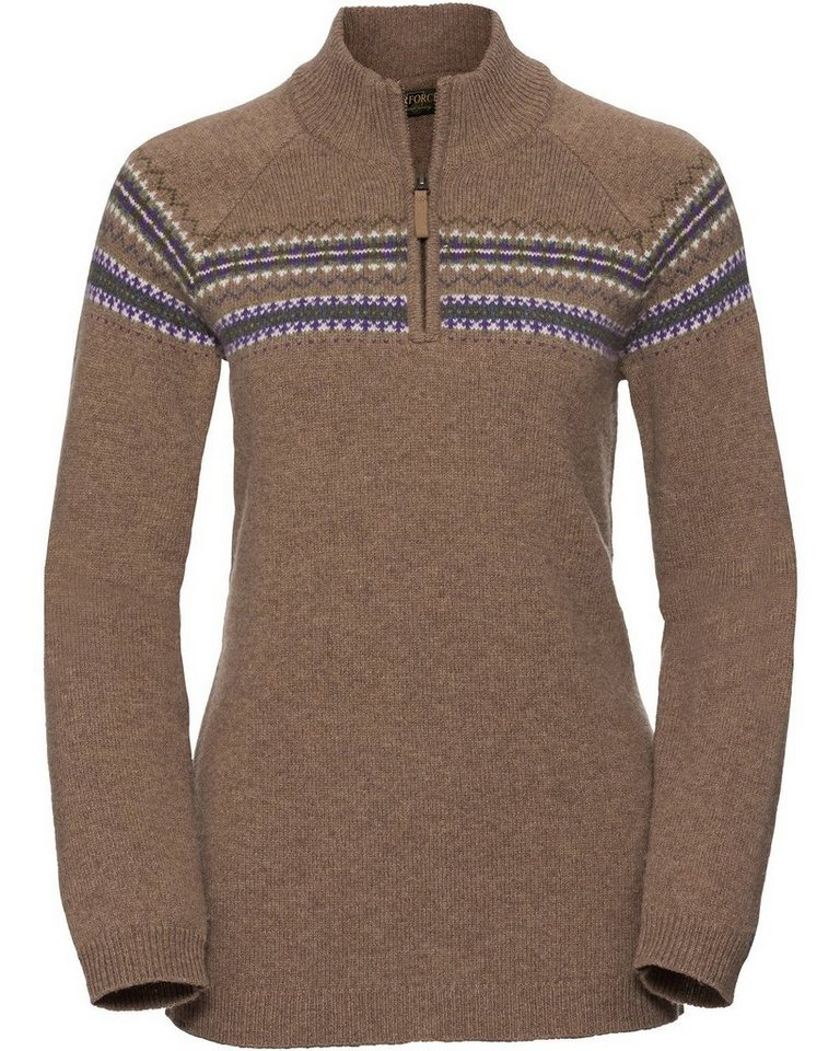 Parforce Traditional Hunting Damen Jagdtroyer Philippa | Bekleidung > Pullover > Troyer | Braun | Parforce Traditional Hunting