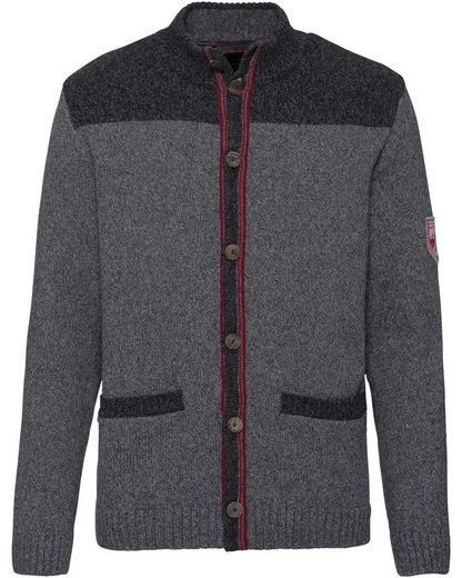 Reitmayer Strickjacke mit Logopatch
