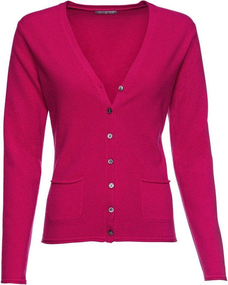 billiger baby Modern und elegant in der Mode IN LINEA Cardigan mit V-Ausschnitt, Reines Cashmere online kaufen | OTTO