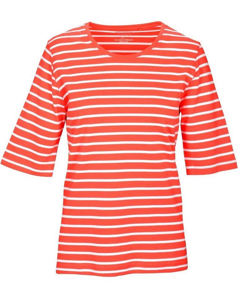 Clarina T-Shirt, gestreift