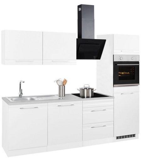 HELD MÖBEL Küchenzeile »Mito«, mit E-Geräten, Breite 240 cm