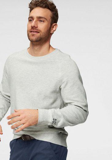 s.Oliver Sweatshirt in Rippen-Optik