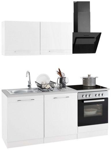 HELD MÖBEL Küchenzeile »Mito«, ohne E-Geräte, Breite 180 cm