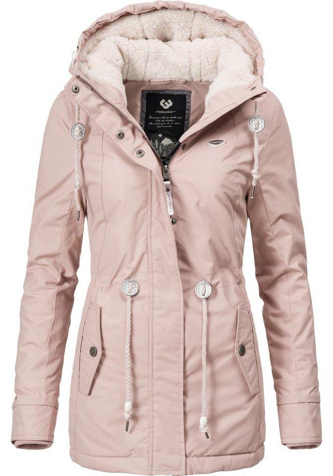 8db6614be520 Ragwear Winterjacke »Monadis Black Label« stylischer Winterparka für die  kalte Jahreszeit