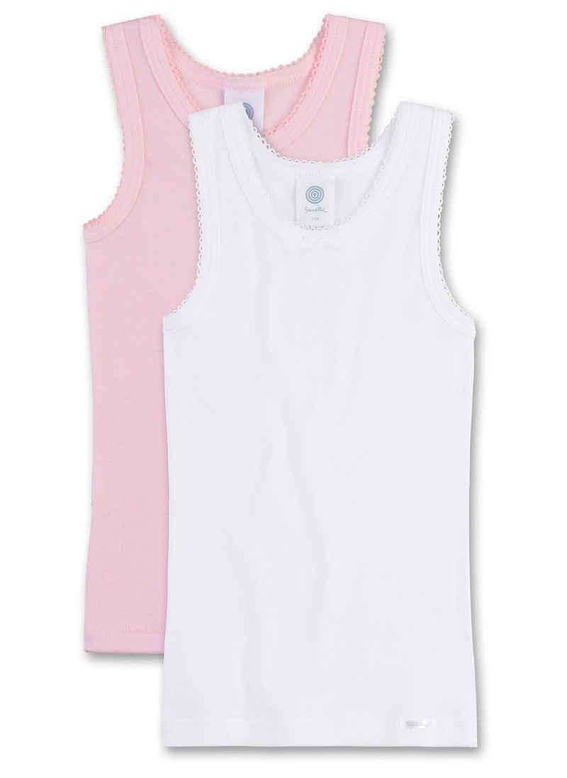Sanetta Unterhemd »Mädchen Unterhemd, 2er Pack - Shirt ohne Arme, Top«