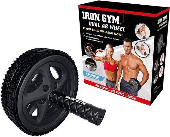 JOKA international Bauchmuskelmaschine »Iron Gym Dual Ab Wheel«