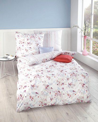 Wendebettwäsche »Sakura«, Kaeppel, kleine Blumen und feine Linien