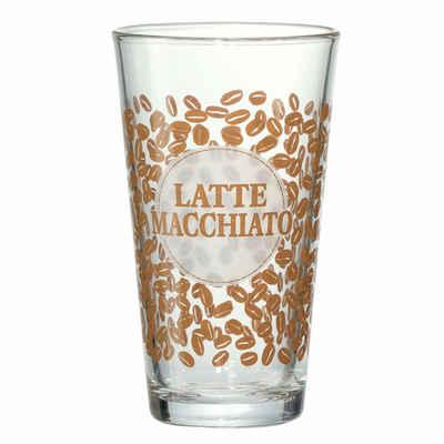 Ritzenhoff & Breker Latte-Macchiato-Glas »Happy - Bean«, Glas