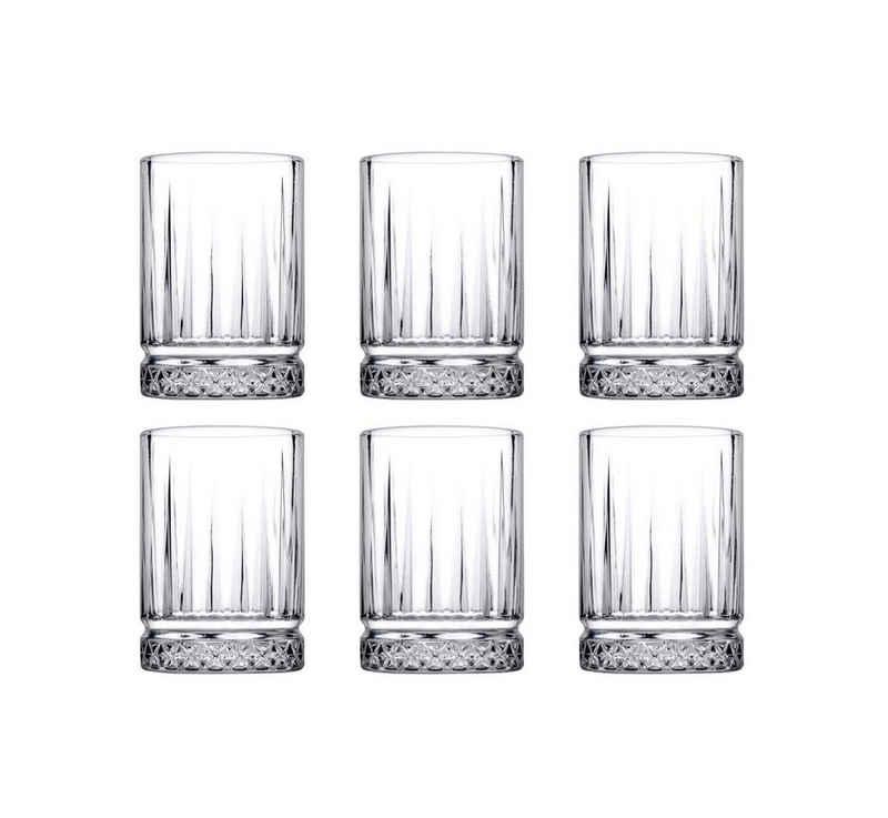 Pasabahce Espressoglas »6er Set ELYSIA 520242 Espressoglas Mini-Wassergläser 60 ml Trinkglas Cocktailglas«
