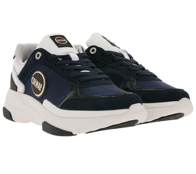 Colmar »COLMAR Low Top Schuhe zeitlose Damen Sneaker mit dicker Sohle Freizeit-Schuhe Blau/Weiß« Sneaker
