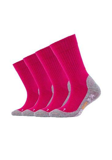 Camano Socken »Kim« (4-Paar) Pro-Tex Funktion, 4er Pack Bund ohne Gummidruck
