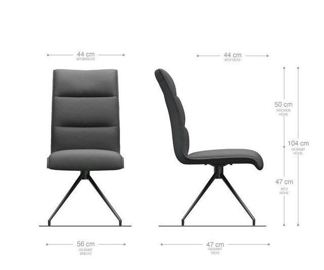 Stühle und Bänke - DELIFE Esszimmerstuhl Xantus Flex Polsterstuhl  - Onlineshop OTTO
