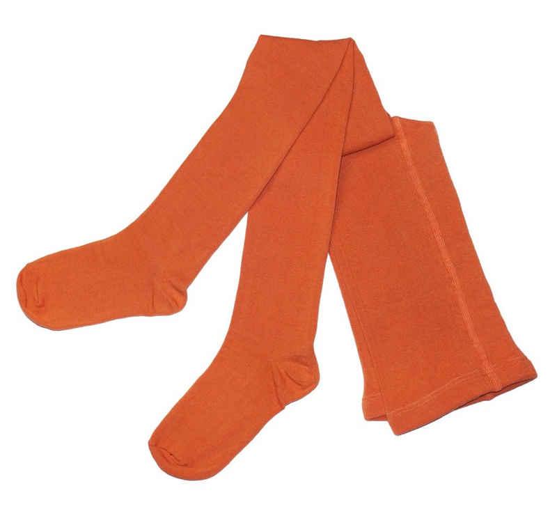 WERI SPEZIALS Strumpfhersteller GmbH Strickstrumpfhose »Damenstrumpfhosen >>Einfarbig Tropisch<< mit Baumwolle«