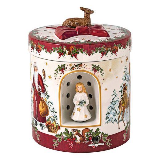 Villeroy & Boch Tafelservice »Christmas Toys Geschenkpaket Christkind« (1-tlg), Porzellan