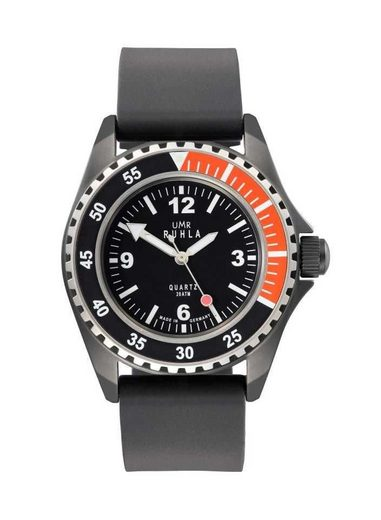 UMR Ruhla Taucheruhr »Kampfschwimmer Uhr Limitierte Edition 13-03 Kautschukband 44 mm«, Made in Germany