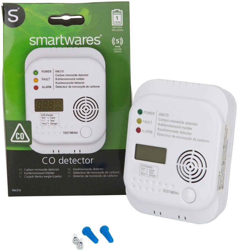 smartwares »Kohlenmonoxid-Melder« CO-Melder (Innenbereich)