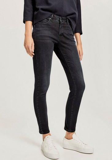OPUS Straight-Jeans »Elma« mit modernen Waschungen