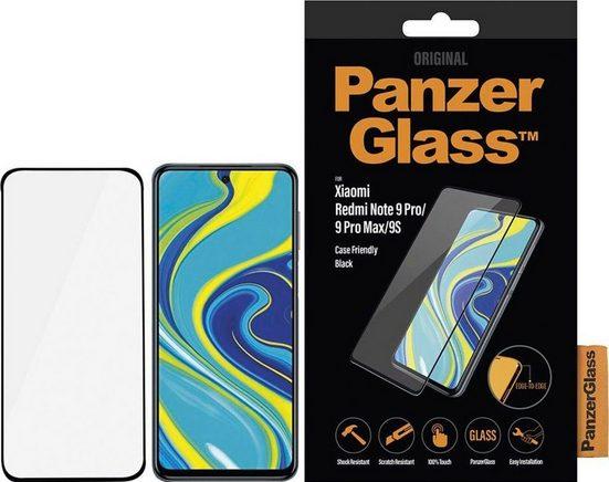 PanzerGlass »CaseFriendly für Xiaomi Redmi 9S/Note 9 Pro/Max« für Xiaomi Redmi Note 9 Pro/9 Pro Max/9S, Displayschutzglas