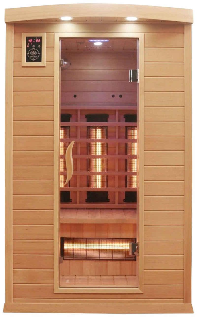 Dewello Infrarotkabine »Hyder«, BxTxH: 115 x 105 x 190 cm, 50 mm, für bis zu 2 Personen