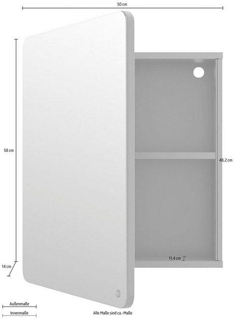 Spiegel - TOM TAILOR Spiegelschrank »COLOR BATH« mit Spiegel Drehtür, Breite 50 cm  - Onlineshop OTTO