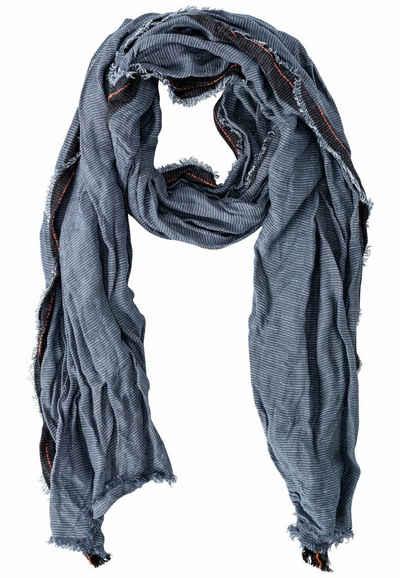 camel active Modeschal »Schal aus einem Organic Cotton-Leinen-Mix« Schal_Modeschal