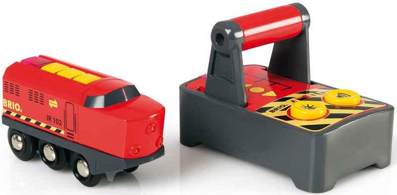 BRIO® Spielzeug-Eisenbahn »BRIO® WORLD IR Frachtlok«, mit Licht und SoundfunktionMade in Europe, FSC® - schützt Wald - weltweit