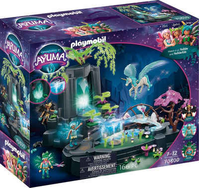Playmobil® Konstruktions-Spielset »Magische Energiequelle (70800), Adventures of Ayuma«, (166 St), Made in Germany