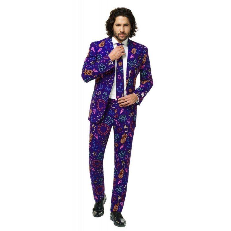 Genieße den kostenlosen Versand offizielle Fotos sehr bequem OppoSuits Doodle Dude Anzug online kaufen | OTTO