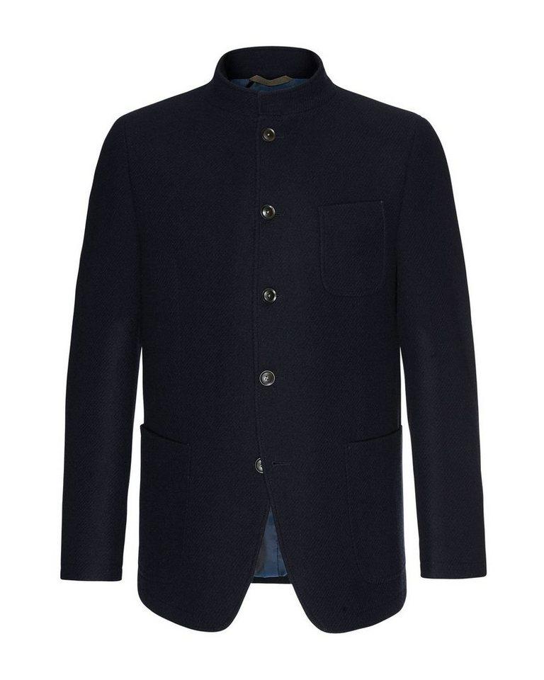 Bugatti Sakko aus hochwertiger Wolle   Bekleidung > Sakkos > Sonstige Sakkos   Blau   Bugatti