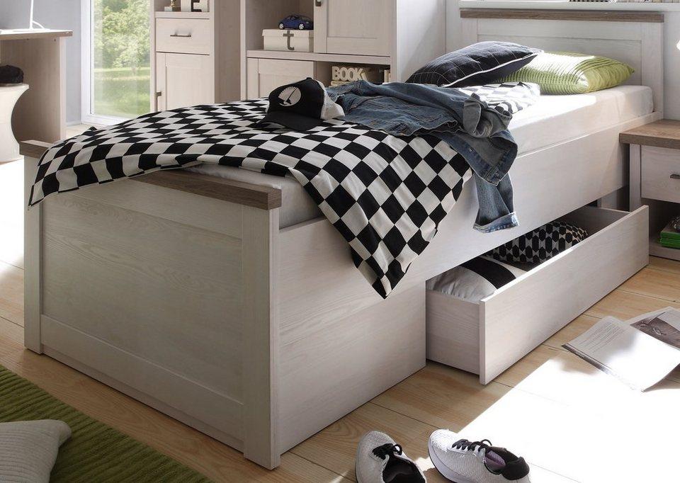 hti living bett luca online kaufen otto. Black Bedroom Furniture Sets. Home Design Ideas