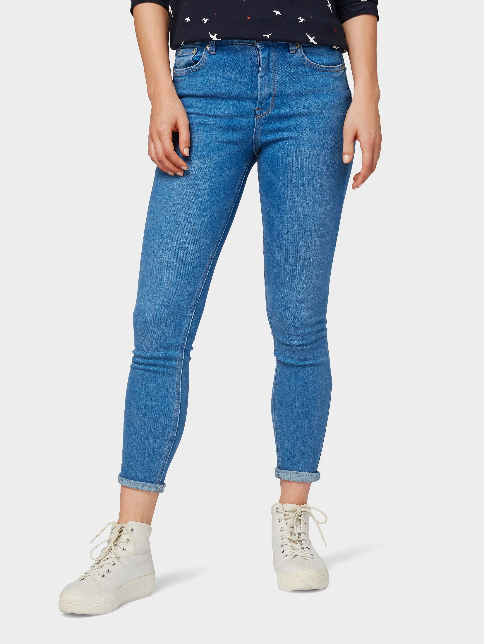 TOM TAILOR Denim Skinny-fit-Jeans »Janna extra skinny Jeans «