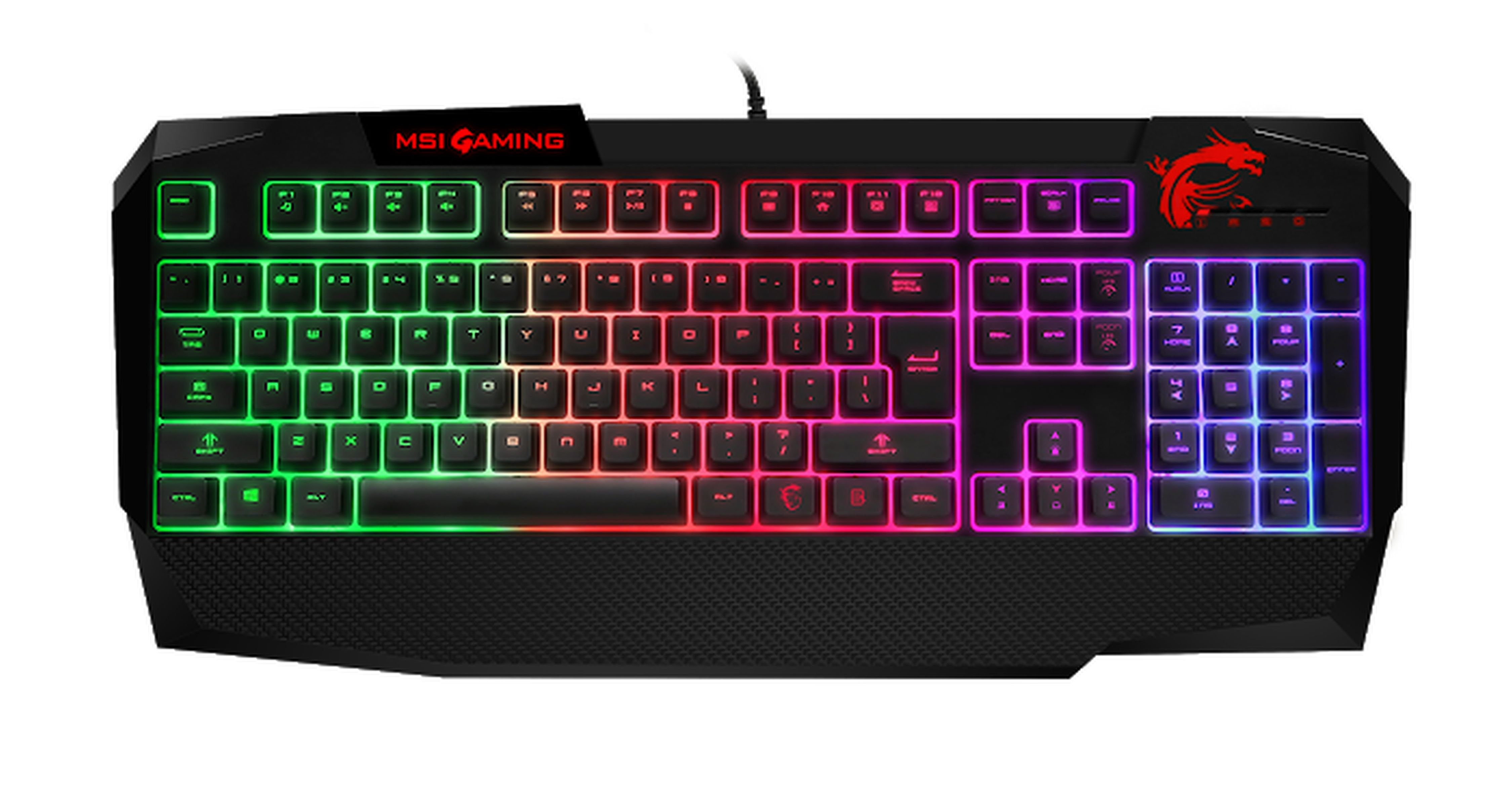 MSI Vigor GK40 »Speziellen Membran-Switches«