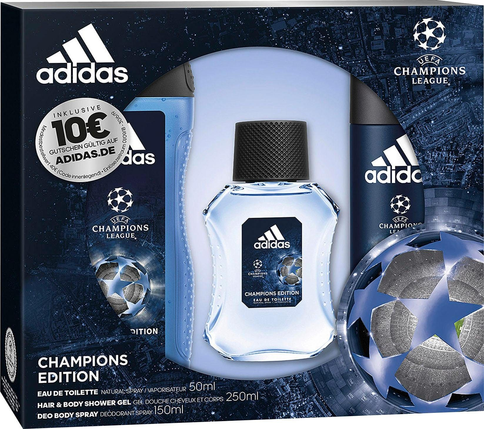 adidas Performance Duft Set »UEFA Champions League Champions Edition«, 3 tlg. online kaufen | OTTO