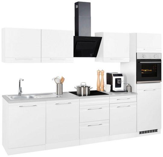 HELD MÖBEL Küchenzeile »Mito«, mit E-Geräten, Breite 300 cm