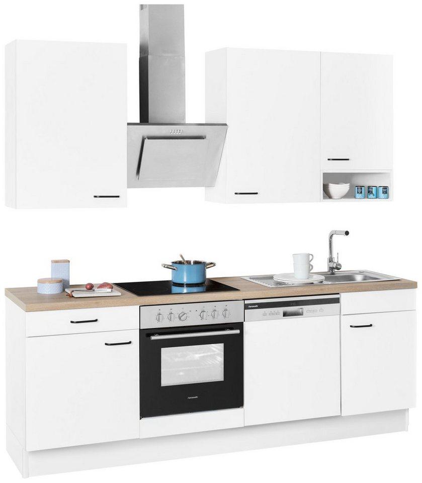 Perfekt OPTIFIT Küchenzeile »Elga«, Ohne E Geräte, Breite 230 Cm