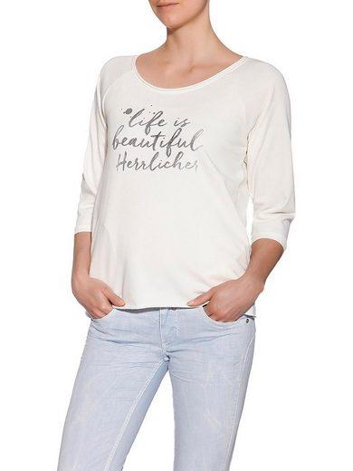 Herrlicher Sweatshirt mit schönem Frontprint