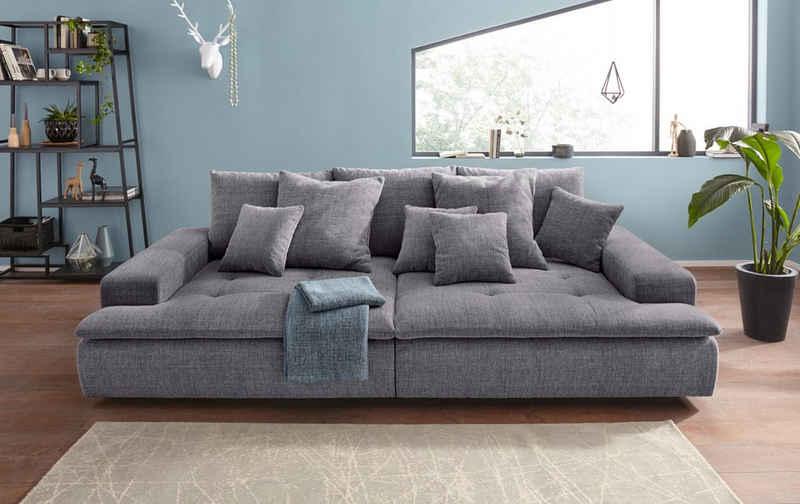 Nova Via Big-Sofa »Haiti AC«, wahlweise mit Kaltschaum (140kg Belastung/Sitz) und AquaClean-Stoff für leichte Reinigung mit Wasser