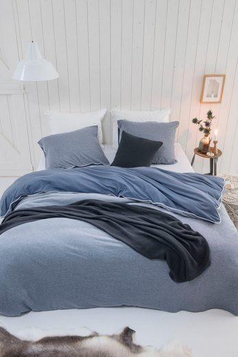 Bettwäsche »Midnight Knit«, Walra, mit Paspel